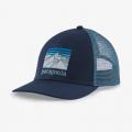 New Navy - Patagonia - Line Logo Ridge LoPro Trucker Hat