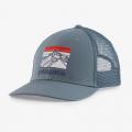 Plume Grey - Patagonia - Line Logo Ridge LoPro Trucker Hat