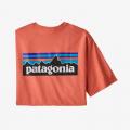Coho Coral - Patagonia - Men's P-6 Logo Responsibili-Tee