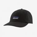 Black - Patagonia - P-6 Label Trad Cap