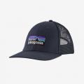 Navy Blue - Patagonia - P-6 Logo LoPro Trucker Hat