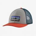 Salt Grey - Patagonia - P-6 Logo LoPro Trucker Hat