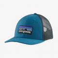 Steller Blue - Patagonia - P-6 Logo LoPro Trucker Hat