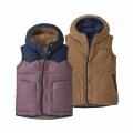 Hyssop Purple - Patagonia - Girls' Reversible Bivy Hoody Vest