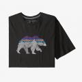Black w/Bear - Patagonia - Men's Back For Good Organic T-Shirt