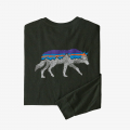 Kelp Forest w/Wolf - Patagonia - Men's L/S Back For Good Responsibili-Tee