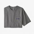 Gravel Heather - Patagonia - Men's P-6 Label Pocket Responsibili-Tee