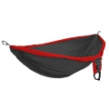 Red/Charcoal - Eagles Nest Outfitters - DoubleDeluxe Hammock