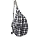 Oatmeal - KAVU - Mini Plaid Rope Bag