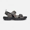Grey/Black - Keen - Men's Targhee III Open Toe Sandal
