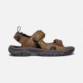 Bison/Mulch - Keen - Men's Targhee III Open Toe Sandal