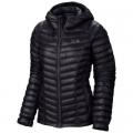 Black - Mountain Hardwear - Women's Ghost Whisperer Hooded Down Jacket