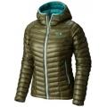 Stone Green - Mountain Hardwear - Women's Ghost Whisperer Hooded Down Jacket