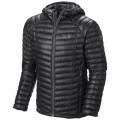 Black - Mountain Hardwear - Men's Ghost Whisperer Hooded Down Jacket