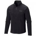Black - Mountain Hardwear - Men's MicroChill Lite Zip T