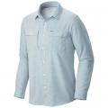 Static Blue - Mountain Hardwear - Men's Canyon Long Sleeve Shirt
