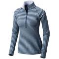 Inkwell - Mountain Hardwear - Women's Butterlicious Stripe Long Sleeve 1/2 Zi