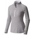 Steam - Mountain Hardwear - Women's Butterlicious Stripe Long Sleeve 1/2 Zi