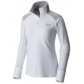 White - Mountain Hardwear - Women's Microchill 2.0 Zip T