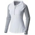 White - Mountain Hardwear - Women's Butterlicious Stripe Hoody