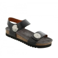 Black Leather - Taos - Women's Luckie
