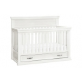 Warm White - Franklin & Ben - Langford 4-in-1 Convertible Crib