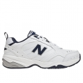 White with Navy - New Balance - 624 Men's Training Shoes