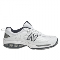 White with Navy - New Balance - Court 806 Men's Tennis Shoes