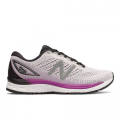 White with Voltage Violet and Black - New Balance - 880v9 Women's Neutral Cushioned Shoes