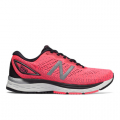 Guava with Black & Silver Metallic - New Balance - 880v9 Women's Neutral Cushioned Shoes