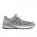 Grey with Castlerock - New Balance - Made in US 990 v5 Men's Made in USA Shoes