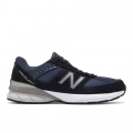 Navy with Silver - New Balance - Made in US 990 v5 Men's Made in USA Shoes