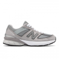 Grey with Castlerock - New Balance - Made in US 990 v5 Women's Made in USA Shoes