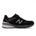 Black with Silver - New Balance - Made in US 990 v5 Women's Made in USA Shoes
