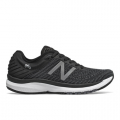 Black with Gunmetal & Lead - New Balance - 860 v10 Women's Stability Shoes