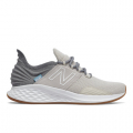 Moonbeam with Light Aluminum - New Balance - Fresh Foam Roav Tee Shirt Women's Running Shoes