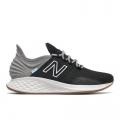 Black with Light Aluminum - New Balance - Fresh Foam Roav Tee Shirt Women's Running Shoes