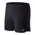 Black - New Balance - 01241 Men's Impact Run 5 Inch Short