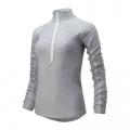 Athletic Grey - New Balance - 01137 Women's Transform 1/2 Zip