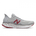 Summer Fog with Neo Crimson and White - New Balance - Fresh Foam 1080 v10 Men's Neutral Cushioning Running Shoes
