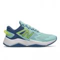 Bali Blue with Mako Blue & Lemon Slush - New Balance - Rave Run Kids Big (Size 3.5 - 7) Shoes