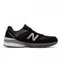 Black with Silver - New Balance - Made in US 990 v5 Men's Made in USA Shoes