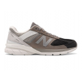 Black with Marblehead - New Balance - Made in US 990 v5 Men's Lifestyle Shoes