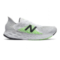 Light Aluminum with White & Energy Lime - New Balance - Fresh Foam 1080 v10 Men's Neutral Cushioned Shoes