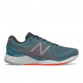 Jet Stream with Energy Red - New Balance - Fresh Foam 880 v10 Men's Neutral Cushioning Running Shoes