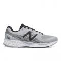 Light Aluminum with Black - New Balance - Fresh Foam 880 v10 Men's Neutral Cushioning Running Shoes