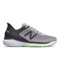 Light Aluminum with Black - New Balance - Fresh Foam 860 v11 Men's Stability Shoes