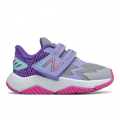 Light Aluminum with Mirage Violet and Fusion - New Balance - Rave Run Kids' Crib & Toddlers (Size 0 - 10) Shoes
