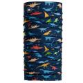 Dino Playground - Turtle Fur - Youth Comfort Shell Totally Tubular Print