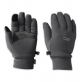 Charcoal Heather - Outdoor Research - Men's PL 400 Sensor Gloves